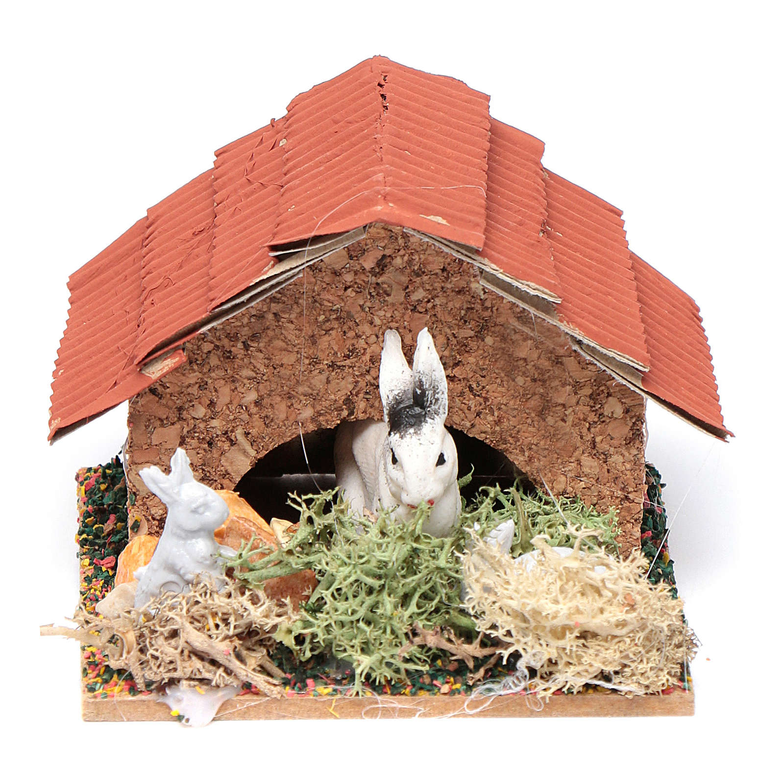 Crib hutch with rabbits 3