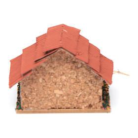 Conigliera con conigli presepe 5x5x5 cm s4