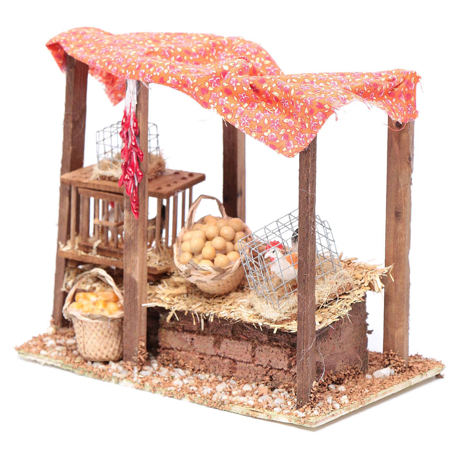 Crib henhouse 15x20x10 cm 3