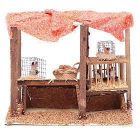 Crib henhouse 15x20x10 cm s4
