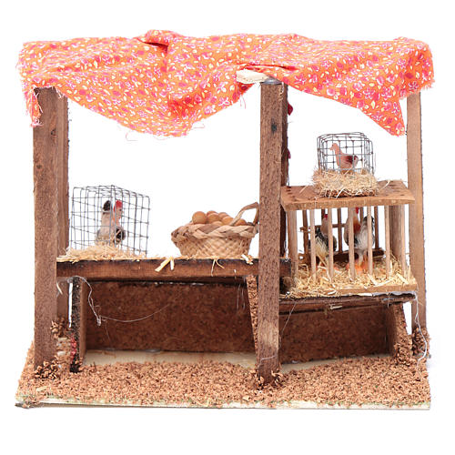 Crib henhouse 15x20x10 cm 4