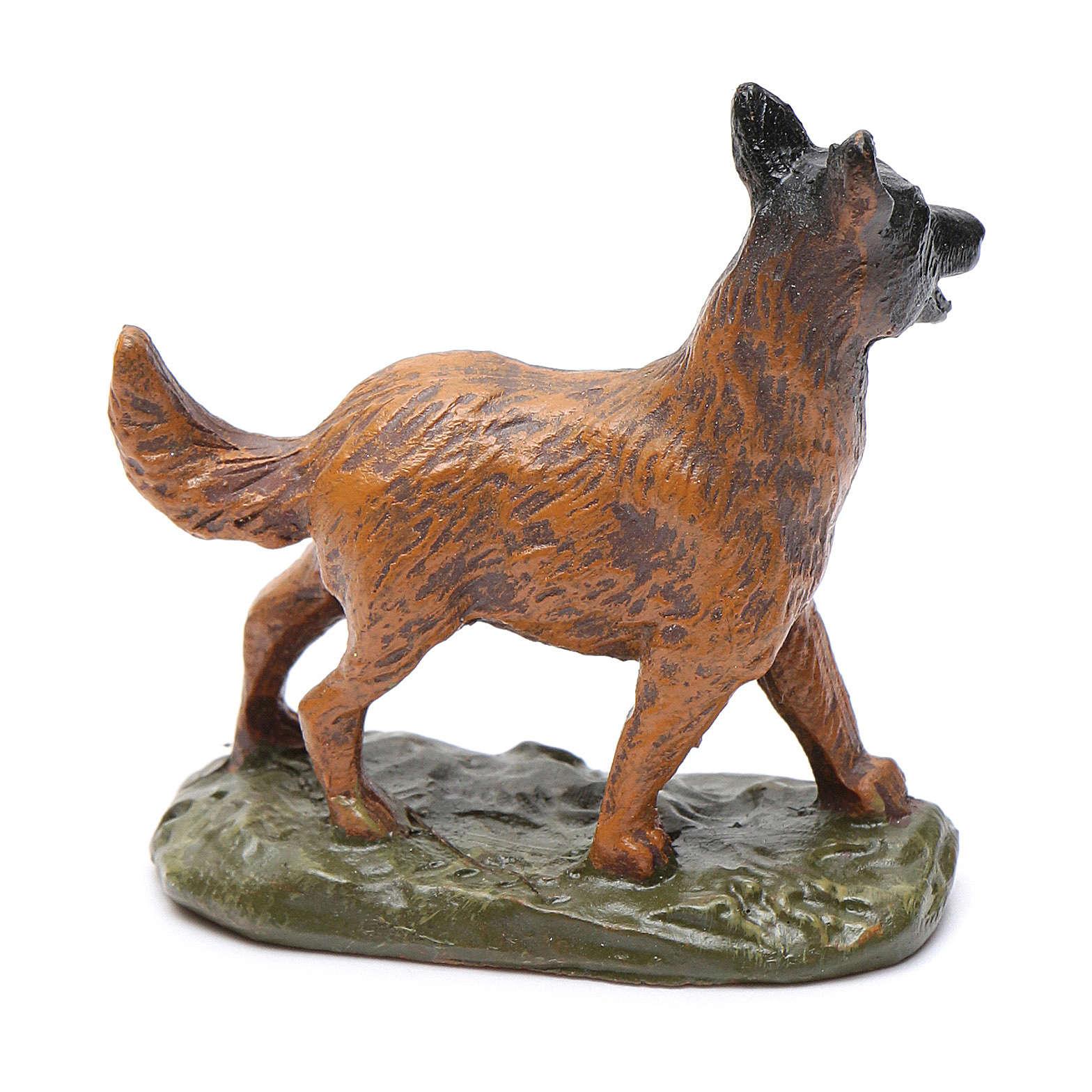 Perro de resina para belén 12 cm Linea Martino Landi 3