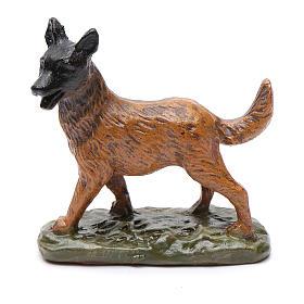 Perro de resina para belén 12 cm Linea Martino Landi s1