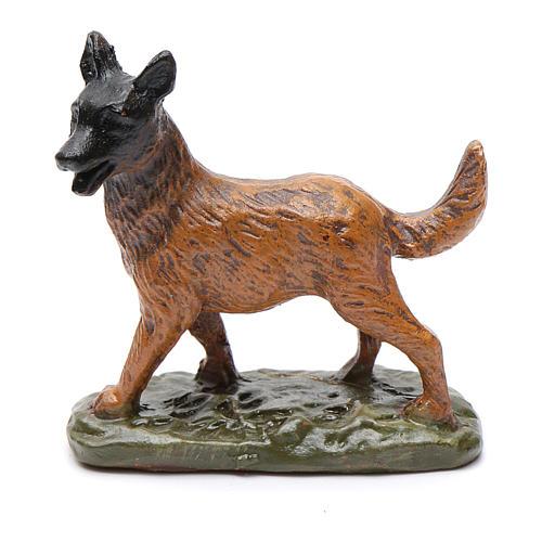 Perro de resina para belén 12 cm Linea Martino Landi 1