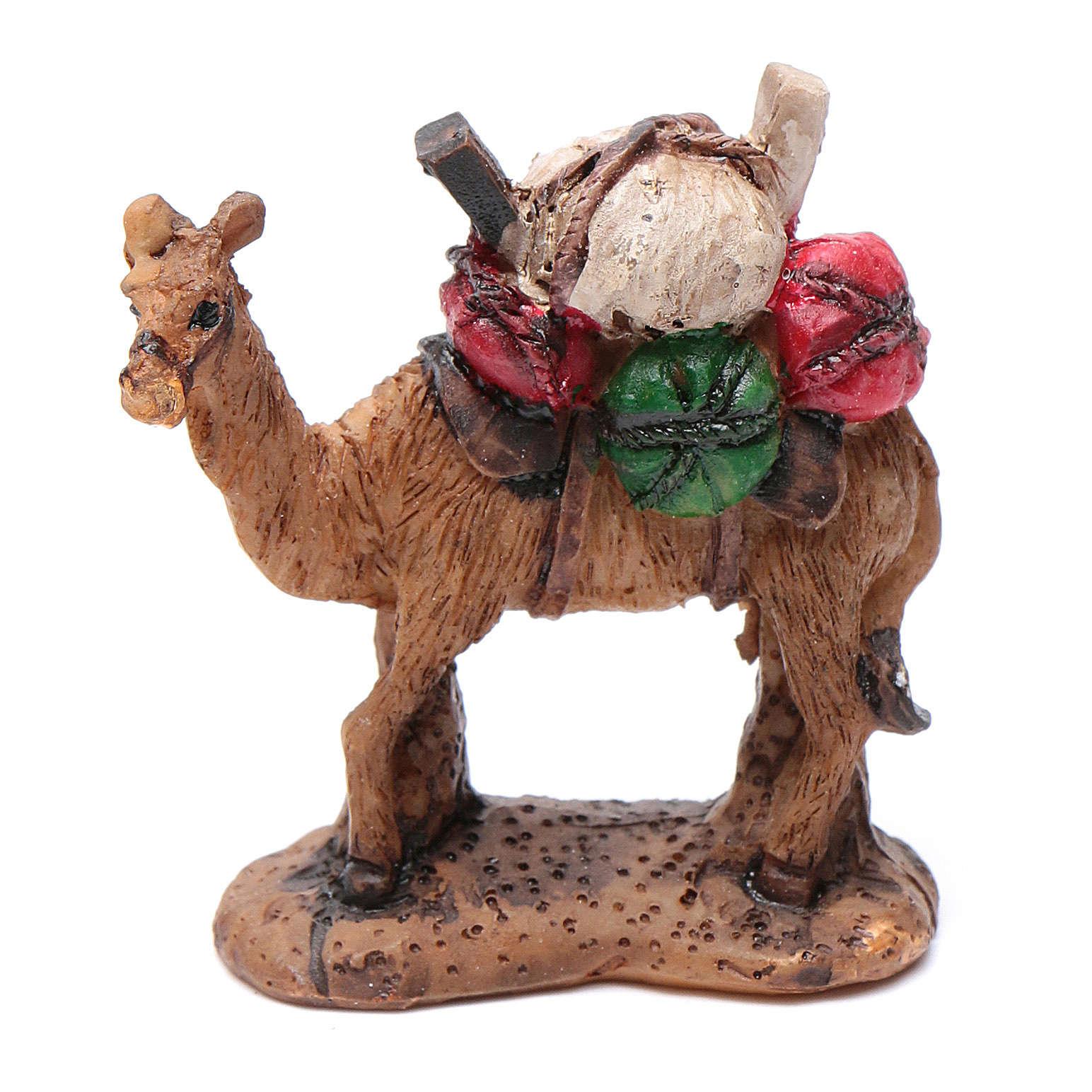 Camello resina para belén 6 cm 3