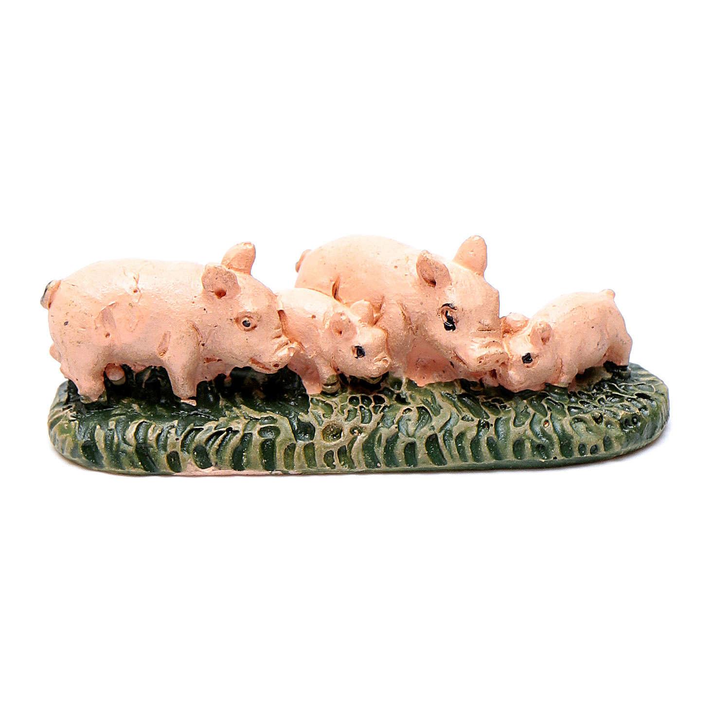 Piggies on grass for 6 cm crib 3