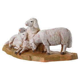 Rebaño de ovejas 12 cm Fontanini s3