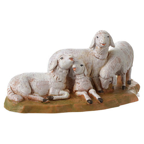 Rebaño de ovejas 12 cm Fontanini 2