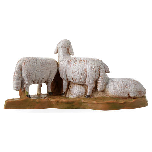 Rebaño de ovejas 12 cm Fontanini 4
