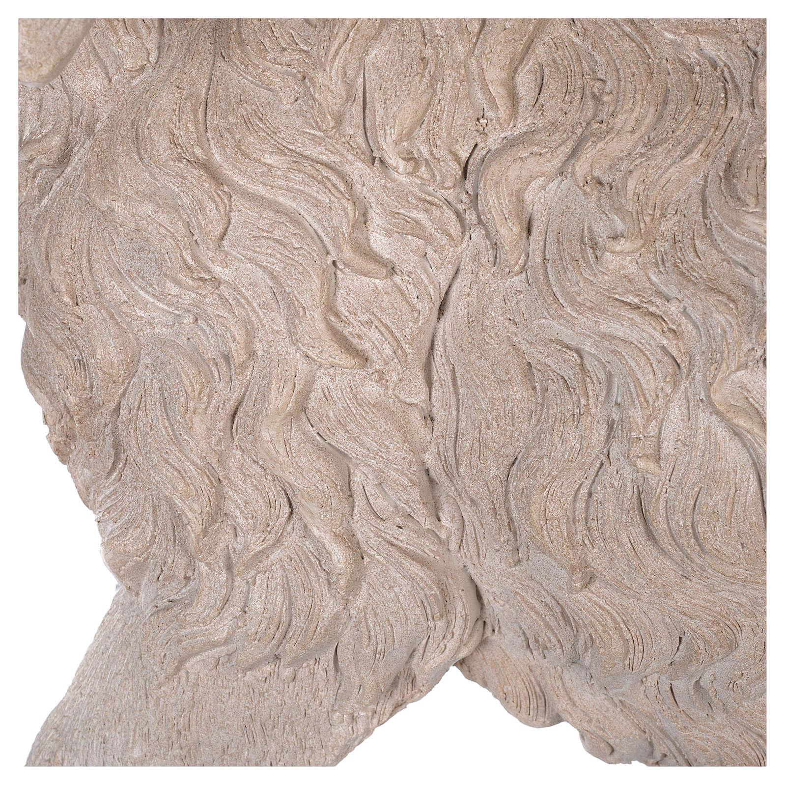 Pecora resina presepe 100-150 cm 3
