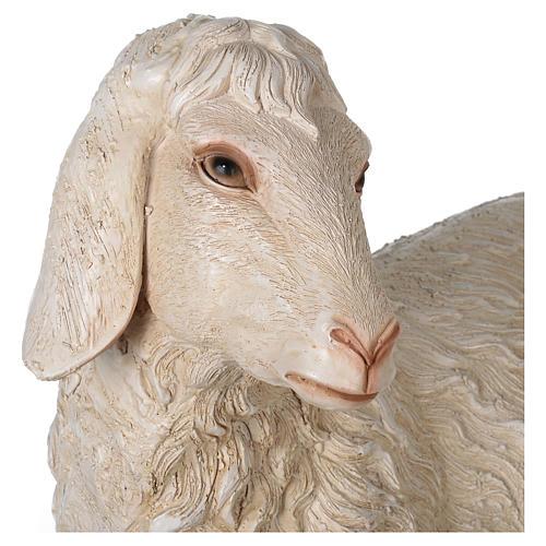 Pecorella resina presepe 140-160 cm 2