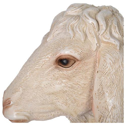Pecorella resina presepe 140-160 cm 4