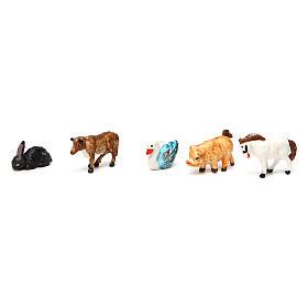 Animali presepe 52 pz presepe 3 cm s3