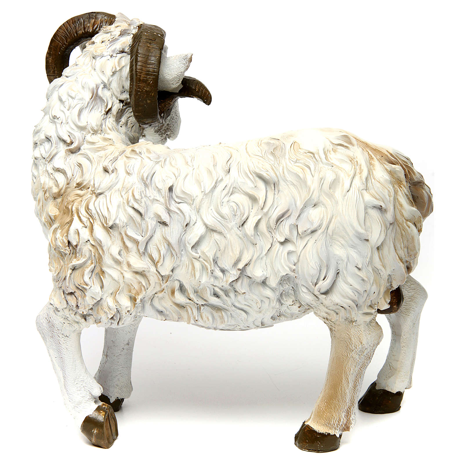 Ram in resin for 60 cm Nativity scene 3
