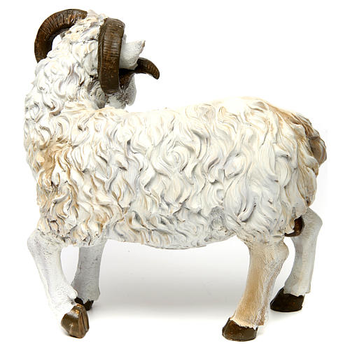 Ram in resin for 60 cm Nativity scene 2
