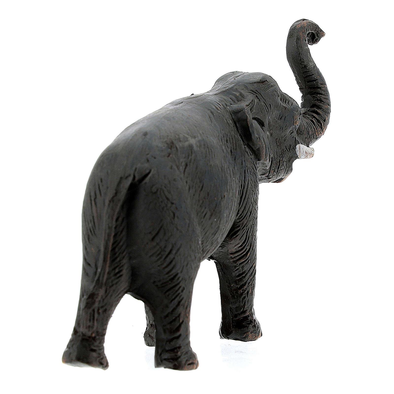 Elefante de terracota belén napolitano 4 cm 4