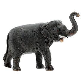 Éléphant en terre cuite crèche napolitaine 4 cm s1