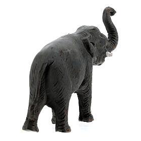 Éléphant en terre cuite crèche napolitaine 4 cm s4