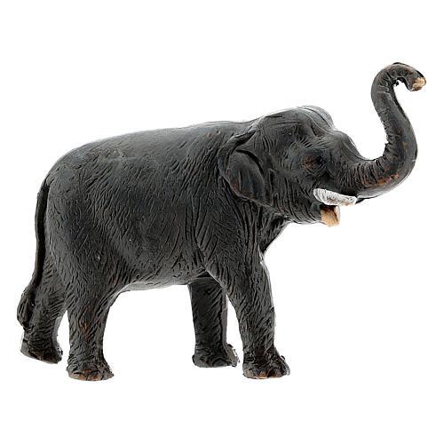 Éléphant en terre cuite crèche napolitaine 4 cm 1