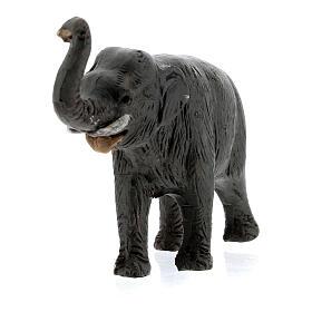 Elefante in terracotta presepe napoletano 4 cm s2