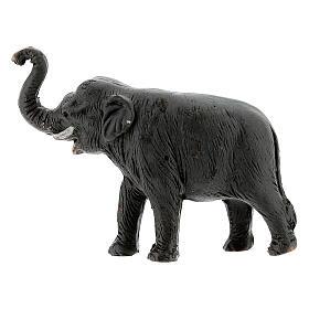 Elefante in terracotta presepe napoletano 4 cm s3