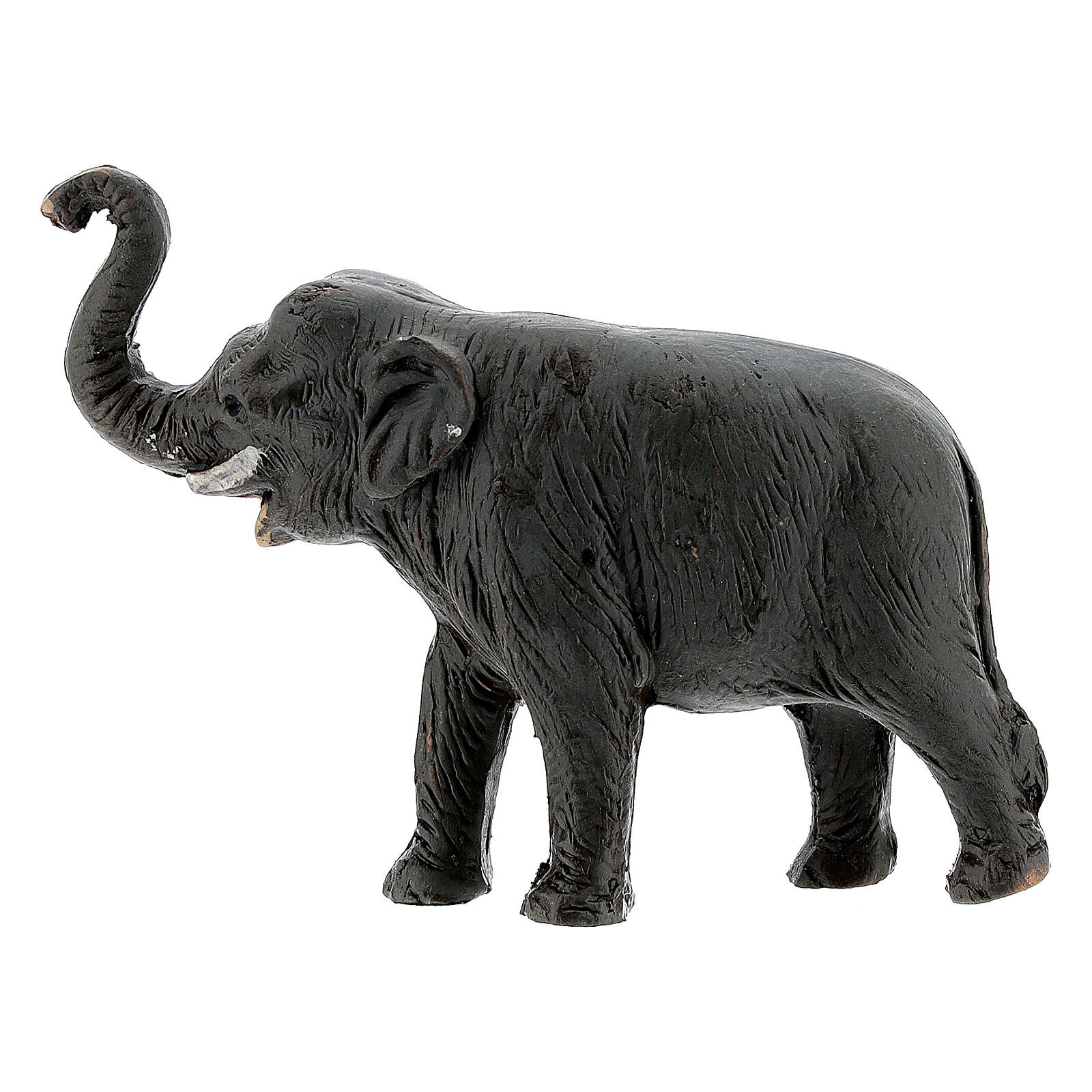 Elephant in terracotta, 4 cm Neapolitan nativity 4