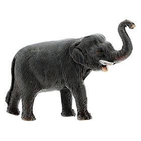 Elephant in terracotta, 4 cm Neapolitan nativity s1