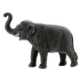 Elephant in terracotta, 4 cm Neapolitan nativity s3