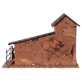 Horse enclosure and dovecote for Nativity scenes of 9 cm s4