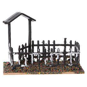 Plastic and cork animal enclosure 8x10x7 cm s1