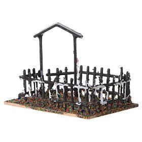 Plastic and cork animal enclosure 8x10x7 cm s2