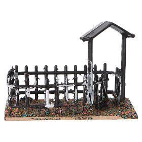 Plastic and cork animal enclosure 8x10x7 cm s4