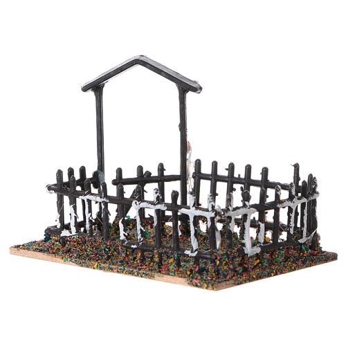 Plastic and cork animal enclosure 8x10x7 cm 2