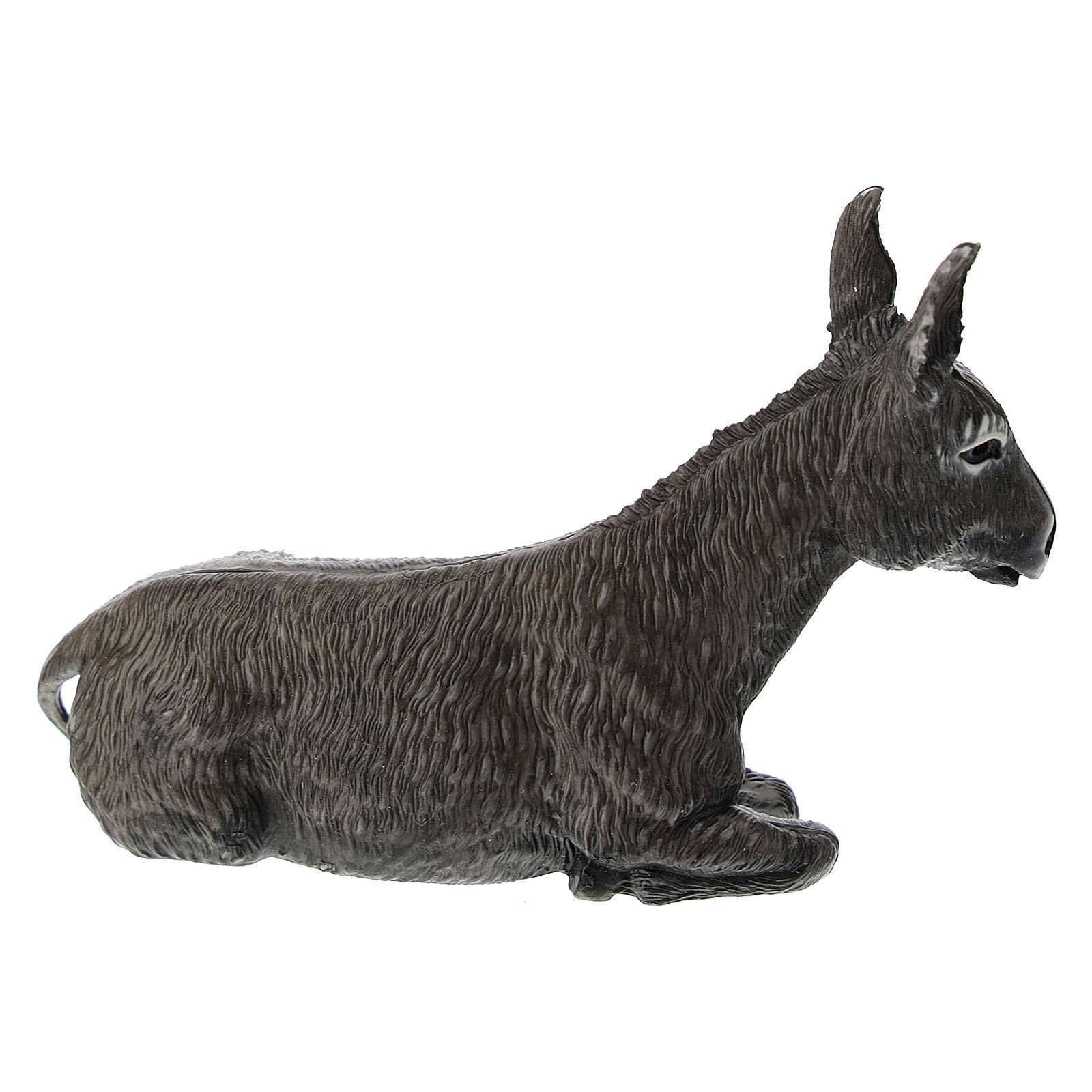 Donkey figurine for Nativity Scene 12 cm 3