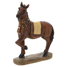 Camello elefante y caballo resina para belén de 11 cm set s3