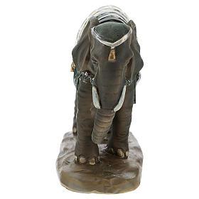 Cammello elefante e cavallo resina per presepe di 11 cm set s4