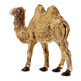 Camel figurine standing in plastic 4 cm nativity s3