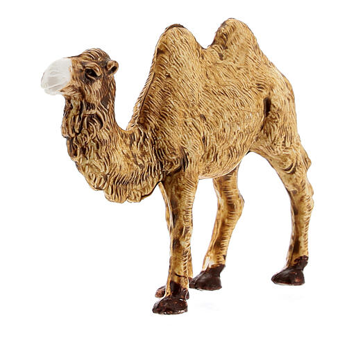 Camel figurine standing in plastic 4 cm nativity 2