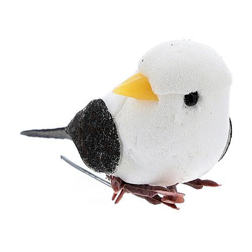Pigeon bricolage crèche 8 cm 2