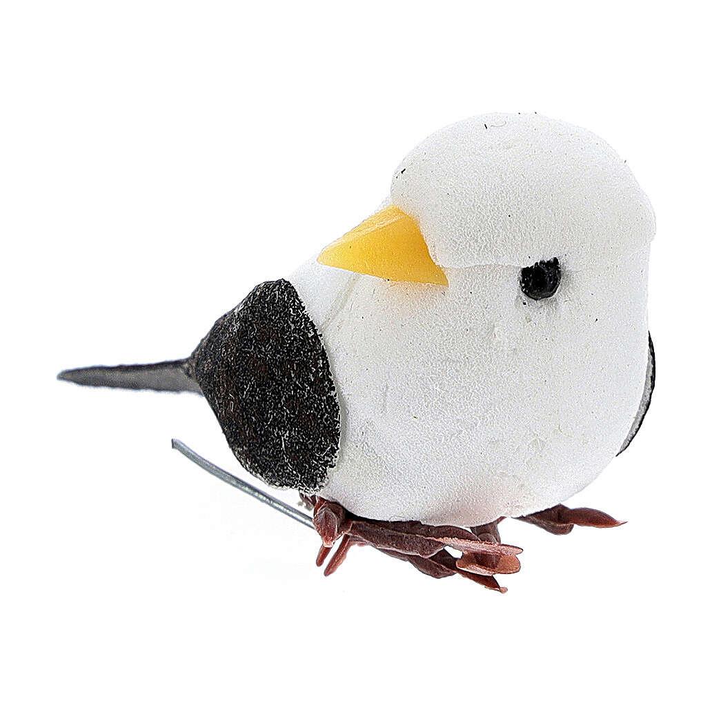 Pigeon figurine, DIY nativity 8 cm 3