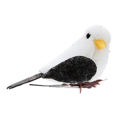 Pigeon figurine, DIY nativity 8 cm 1
