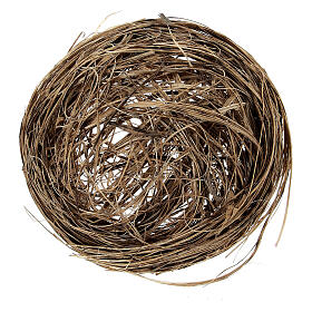 Miniature bird nest diam 6 cm s2
