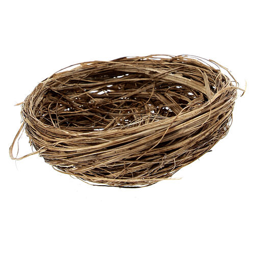Miniature bird nest diam 6 cm 1