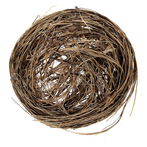 Miniature bird nest diam 6 cm 2