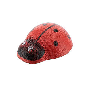 Miniature ladybird 1 cm for Nativity Scene with 10-12 cm figurines s2