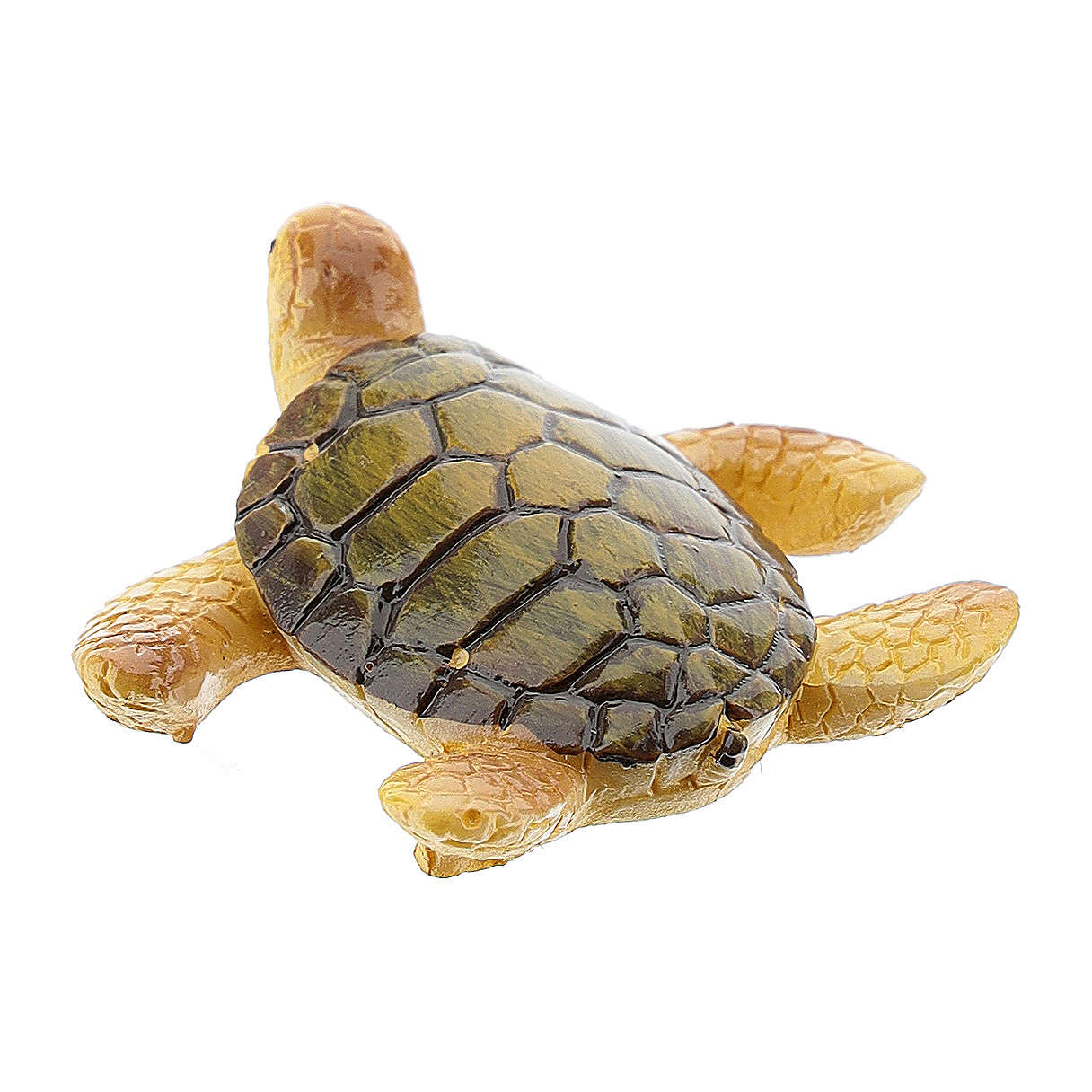 Tartaruga marina presepe resina 8-10 cm 3