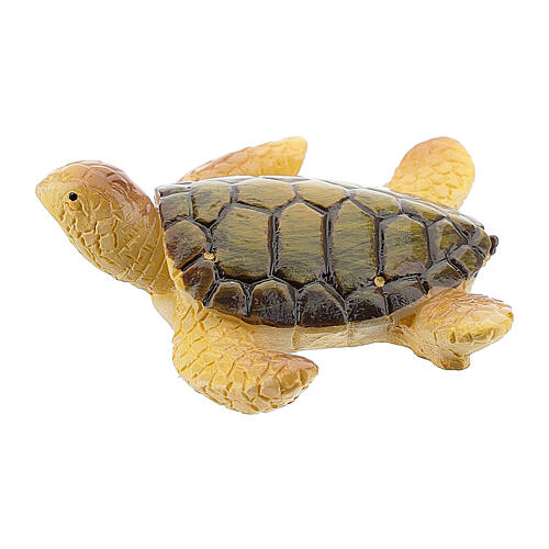 Tartaruga marina presepe resina 8-10 cm 1