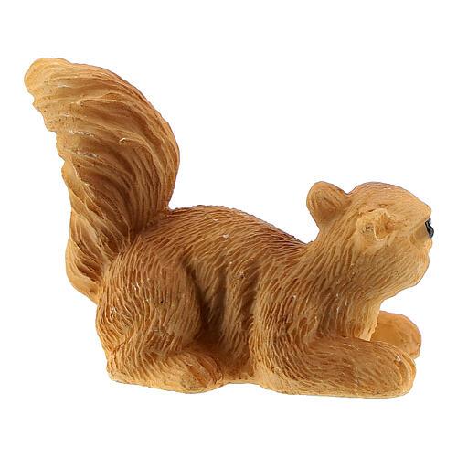 Squirrel 3 cm for Nativity scene 14-18 cm 2