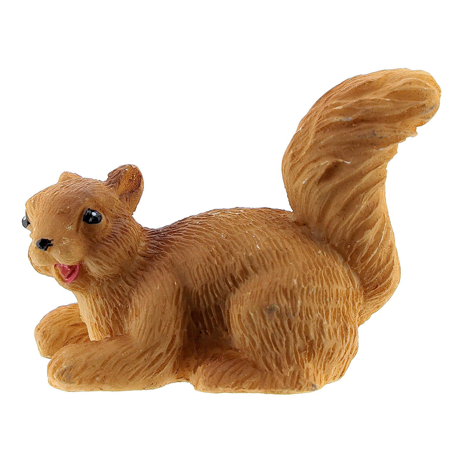 Squirrel 3 cm for Nativity Scene with 14-18 cm figurines 3