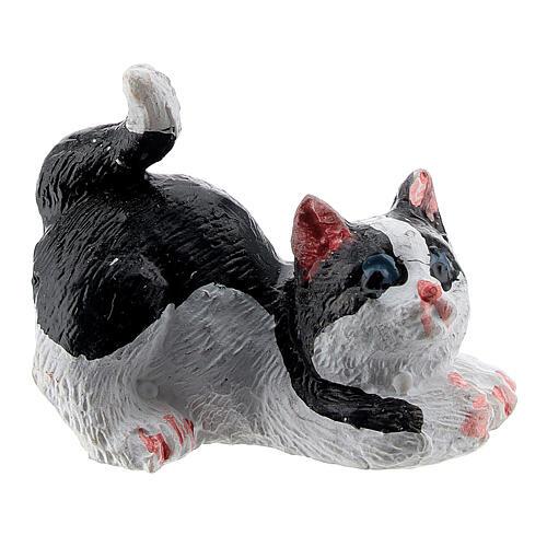 Cat 3 cm for Nativity scene 12 cm 1